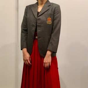 School uniform  Vintage jacket