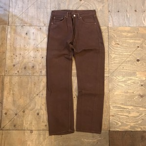 "90s levis 501 ""brown"" USA製 ub1068"
