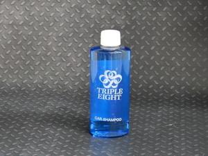 【送料無料】【TRIPLE EIGHT】【洗車用洗剤】CAR SHAMPOO200ml(クロス付き)