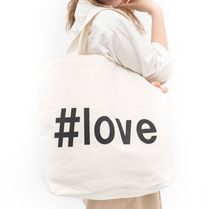 [ the HAMP works ] TOTE_BAG  A-2 : #love