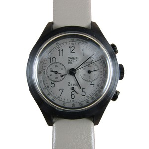 VAGUE WATCH CO.【2EYES クロノグラフ GRAY】