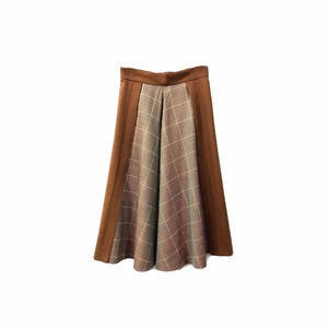 JILL STUART - Check Design Flared Skirt (size - 0) ¥15000+tax