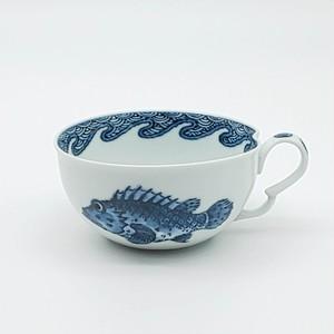 魚紋 スープカップ