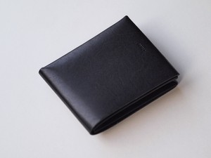 【i ro se】SEAMLESS SHORT WALLET 二つ折り財布 BLACK