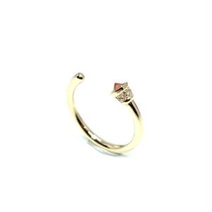 Torch ring Fire opal