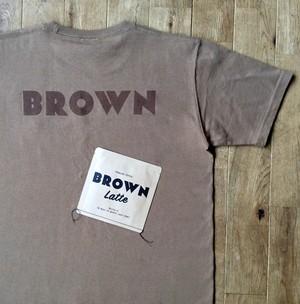"""【秋物】JS """"BROWN"""" Tシャツ"""