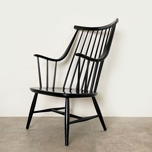 Spoke-back lounge chair by Lena Larsson for Nesto / CH033