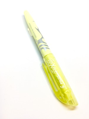 PILOT Frixion Highlighter Pastel Yellow
