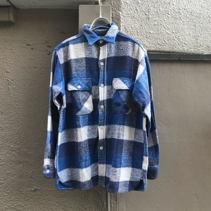 60s King Kole  Check flannel shirt UT-1954