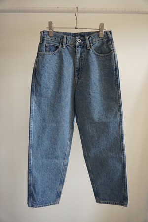 5POCKET WIDE DENIM PANTS ICE WASH
