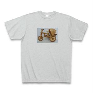Tシャツ サムロー(三輪車) グレー【送料込み】