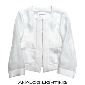 No Collar Air Jacket/WHITE