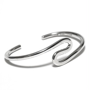 Vintage Sterling Silver Mexican Twisty Bangle
