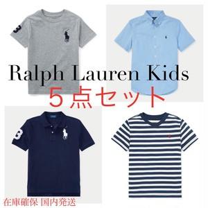 【総額3万以上】ラルフローレン5点 ビッグポニーポロシャツセット 【Ralph Lauren】