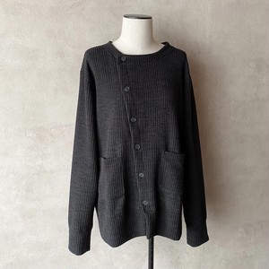 Oblique Button Cardigan【AS SUPERSONIC】