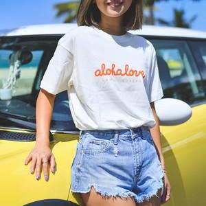 aloha love Tシャツ【Cursive】