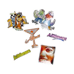 ALLTIMERS (オールタイマーズ) / FUTURISTIC SHINE PRISM STICKER PACK