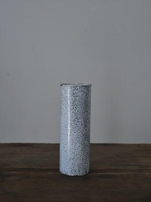 大山求 琺瑯筒状花器