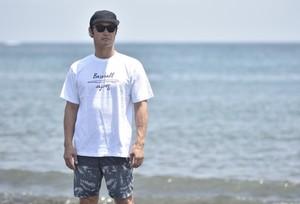 Surf デザインTシャツ 【ホワイト】