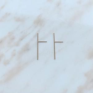 K10YG Bar pierce