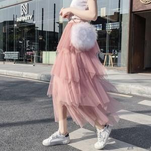 【ボトムズ】無地スウィートケーキスカート