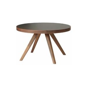 アイシー リビングテーブル ウォールナット 樹脂天板 M-middle