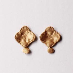 pierce or earring/fabric jewelry   gungulparman ピアス