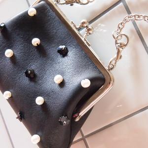 【rebuilding シリーズ】Flower dot mini  チェーン付き ウォレット 財布