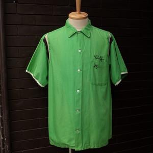 "50~60's ""Hilton"" Short Sleeve Bowling Shirt  / 50~60年代 [ヒルトン]  半袖 ボーリング シャツ"