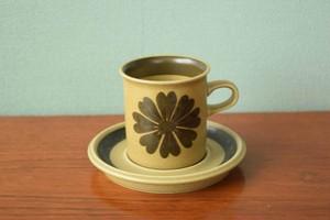 アラビアトゥントゥリコーヒーカップ【ARABIA/Tunturi北欧 食器・雑貨 ヴィンテージ】| ALKU