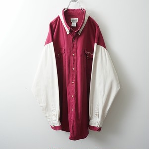 EXPRESS RIDERS two-tone cotton-shirt
