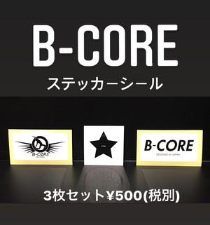 B-CORE ステッカーシール
