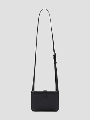 MAISON MARGIELA Mini Leather Messenger Bag Black S35UI0533