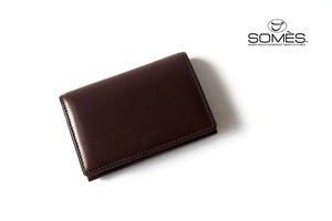 【Sold Out】ソメスサドル|SOMES SADDLE|カードケース|ピント|PINT|PI-03|チョコレートブラウン