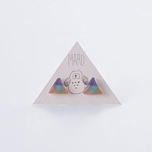 デルタピアス pastel mix モダンデザイン MARTTA ハンドメイド