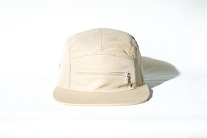 FUNCTIONAL CAMP 5panel Cap / BEIGE