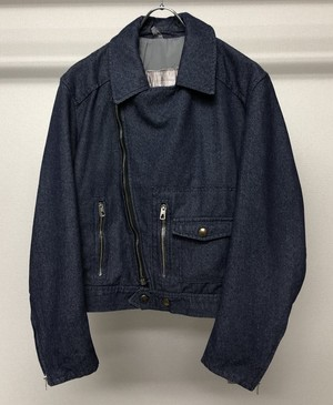 1980s STRUCTURED BIKER JACKET