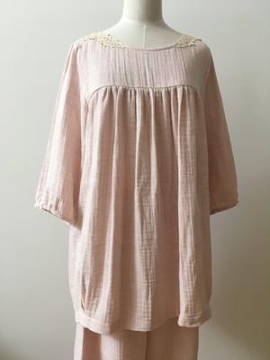 【さえら】 五分袖パジャマ コットン100