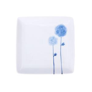 波佐見焼 WAZAN 和山窯 flowers 角取皿 フラワーボール 326981