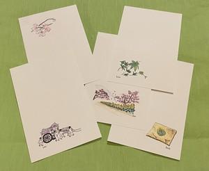 京都癒しの旅ポストカード・安藤加恵デザイン【2021春10】
