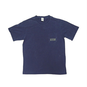 scar /////// BLACKBOX PIGMENT DYED POCKET TEE (Navy)