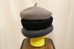 ISLAND KNIT WORKS / WOOL BIG BERET