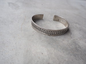 〈vintage silver925〉bali design bangle