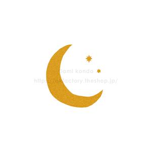 【BABY】Art Print -moon-