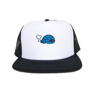 "KIOSCO x ADOOM "" igloo ""meshcap  BLACK"