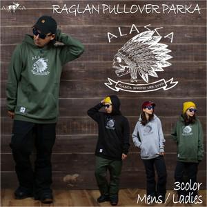 RAGLAN PULLOVER PARKA ALASCA indy as-39