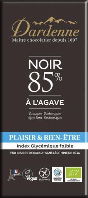 有機アガベチョコレート 85% 90g