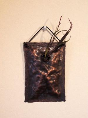 銅製花器(一輪挿し)
