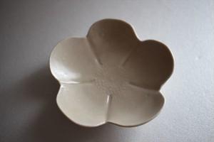 前田麻美|灰琥珀釉芙蓉豆皿