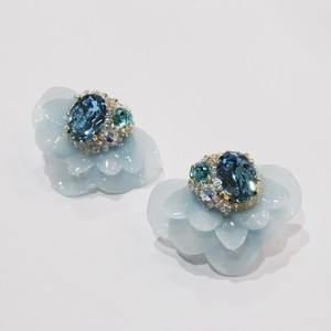 【ピアス.8】phantomFLOWER crystal